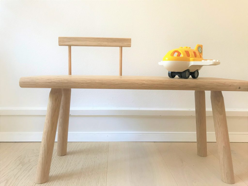 'Kiyomi' toddler bench with backrest2