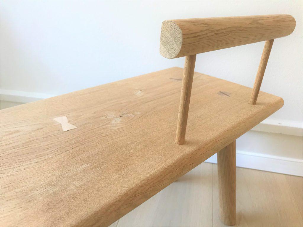 'Kiyomi' toddler bench backrest