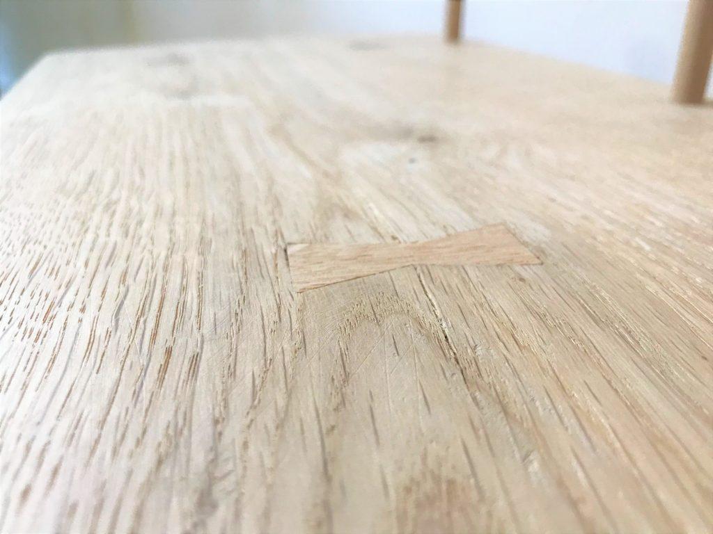 'Kiyomi' toddler bench detail2