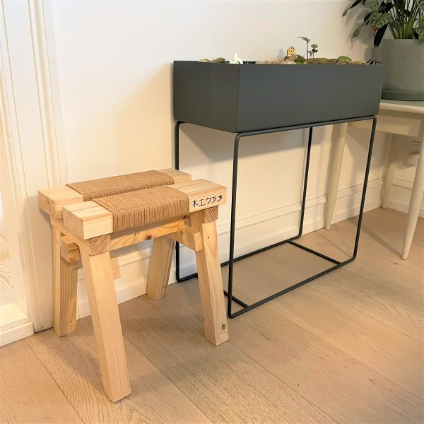 Ishinomaki Japandi style stool